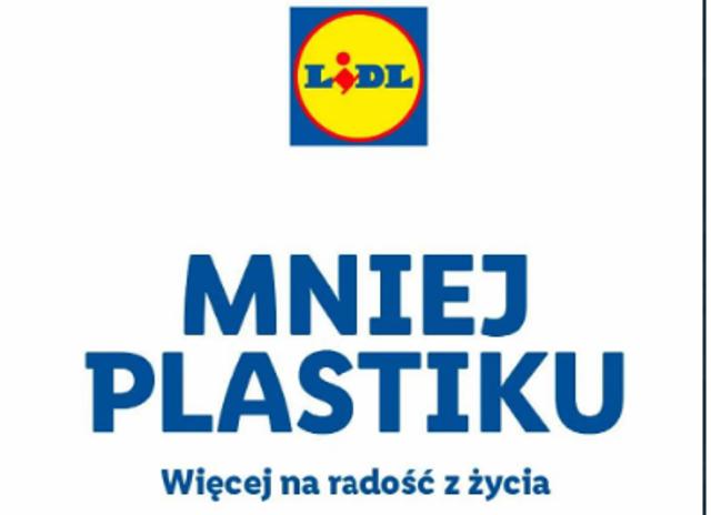Mniej plastiku w Lidlu