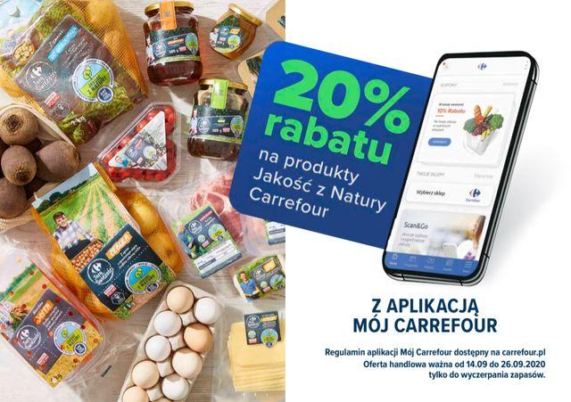 Jakość z natury w sklepach Carrefour