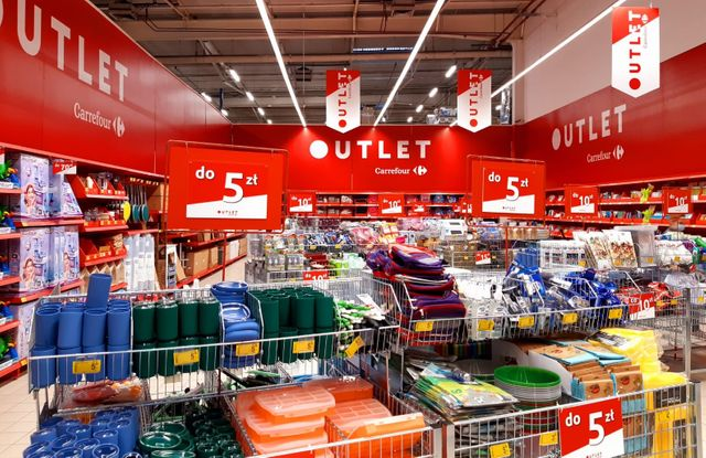 Carrefour testuje strefy outlet