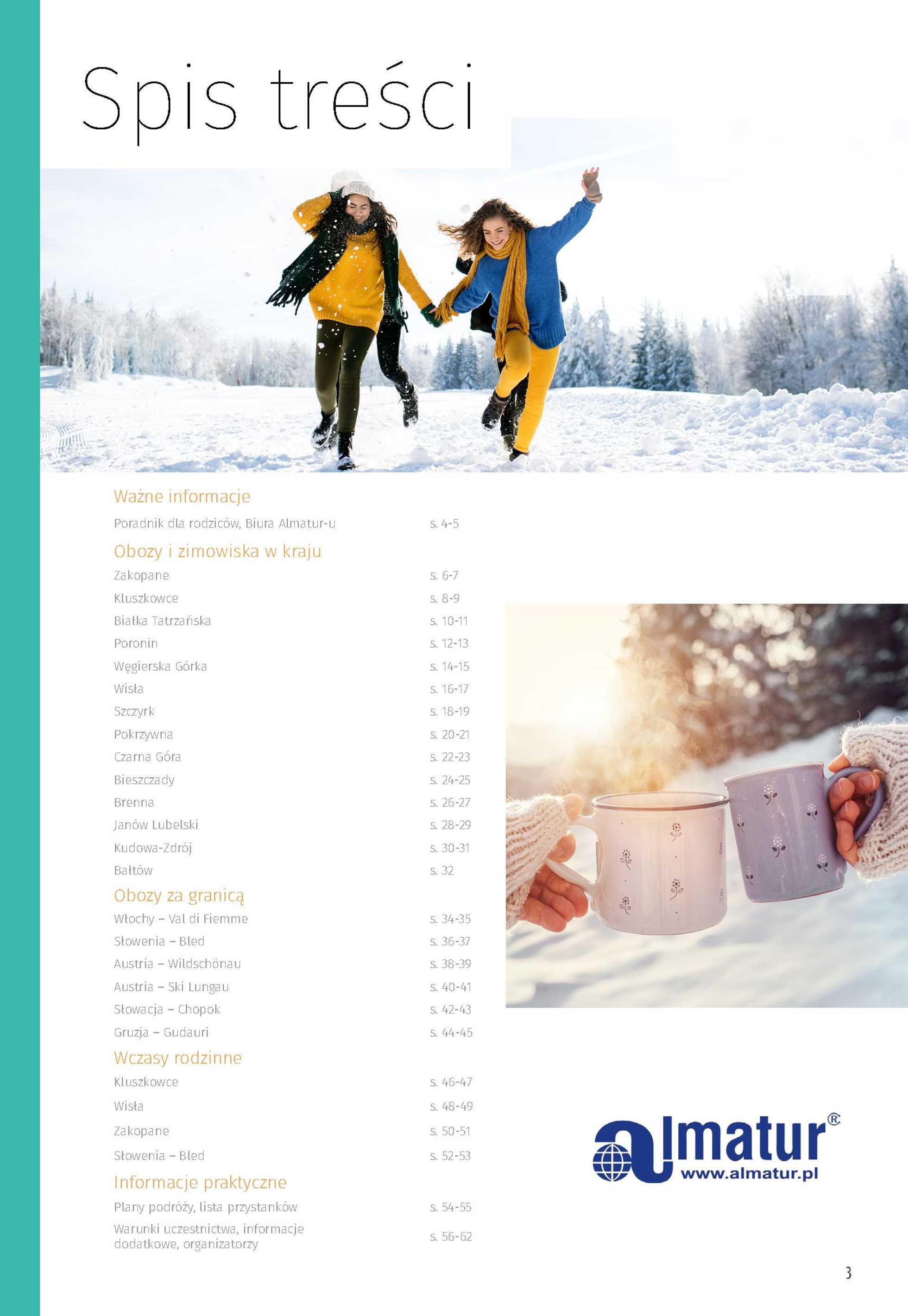Almatur - gazetka promocyjna ważna od 23.09.2020 do 31.12.2020 - strona 3.