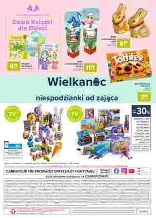 Carrefour - gazetka promocyjna ważna od 31.03.2020 do 05.04.2020 - strona 24.