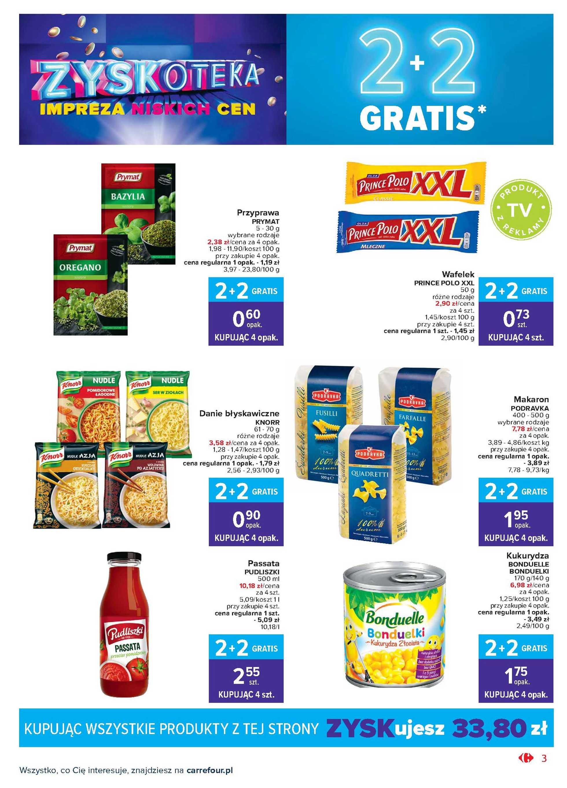 Carrefour Market - gazetka promocyjna ważna od 20.10.2020 do 24.10.2020 - strona 3.