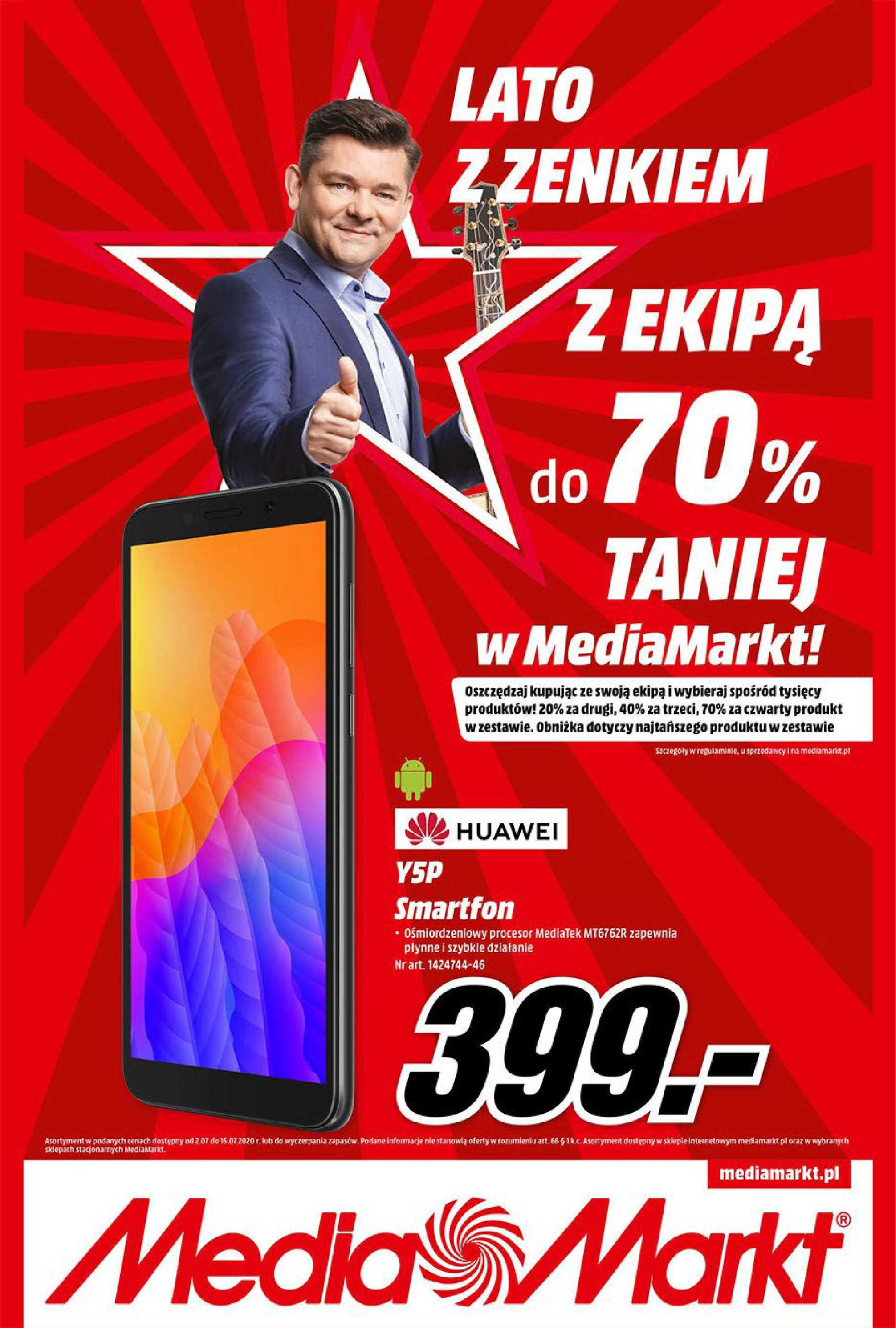 Media Markt - gazetka promocyjna ważna od 02.07.2020 do 15.07.2020 - strona 1.