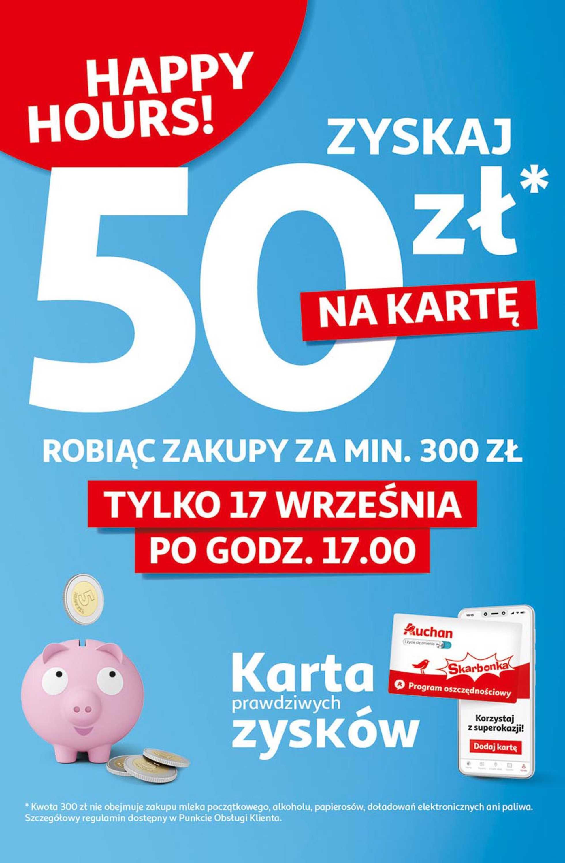 Auchan - gazetka promocyjna ważna od 17.09.2020 do 24.09.2020 - strona 3.
