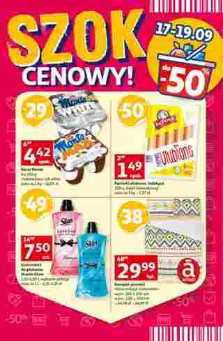 Auchan - gazetka promocyjna ważna od 17.09.2020 do 24.09.2020 - strona 34.