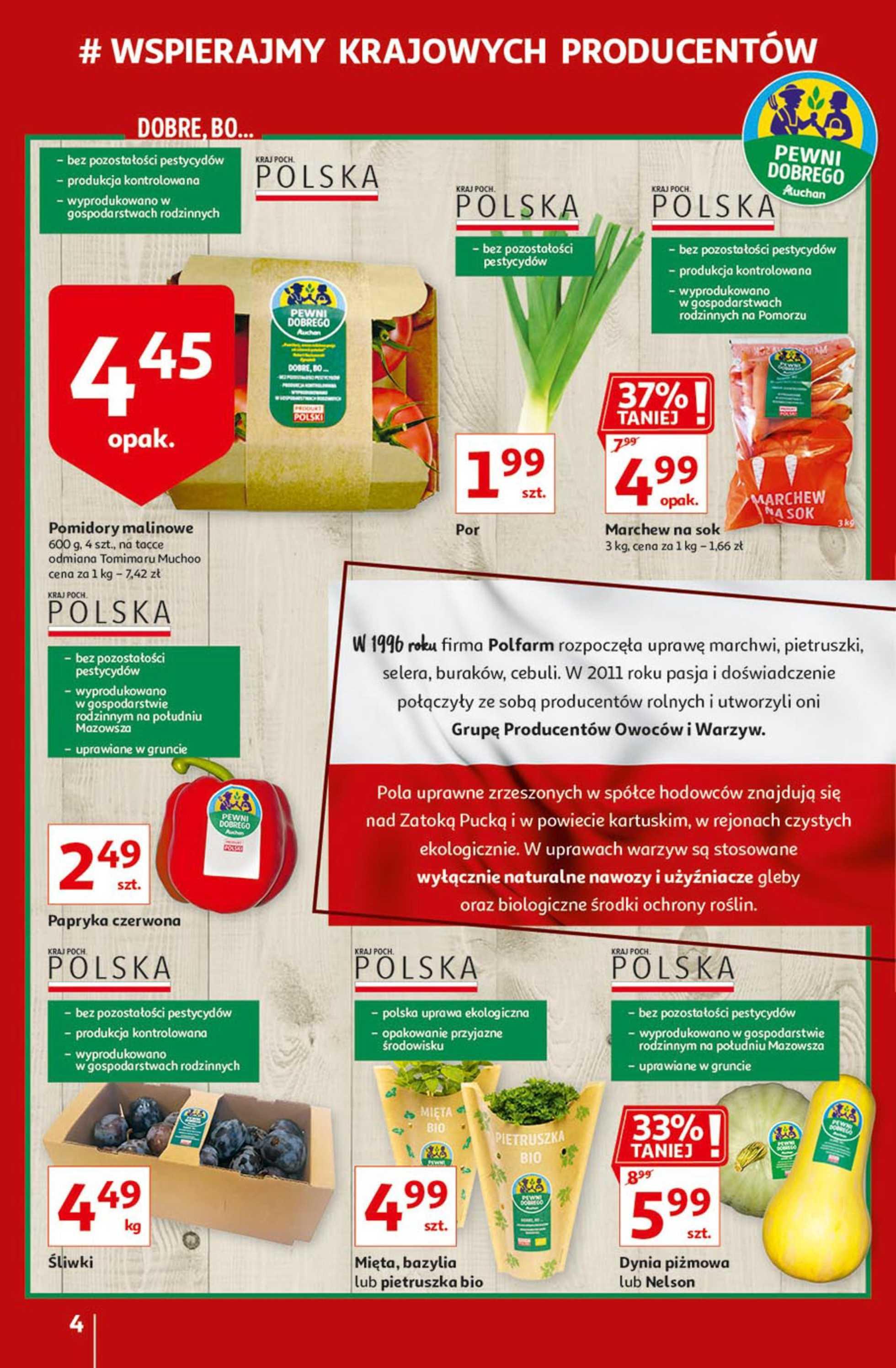 Auchan - gazetka promocyjna ważna od 17.09.2020 do 24.09.2020 - strona 4.