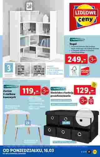Lidl - gazetka promocyjna ważna od 16.03.2020 do 21.03.2020 - strona 17.