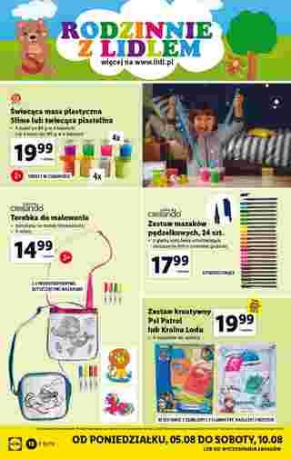 Lidl - gazetka promocyjna ważna od 05.08.2019 do 10.08.2019 - strona 18.
