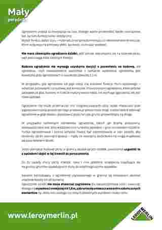 Leroy Merlin - gazetka promocyjna ważna od 03.03.2020 do 30.09.2020 - strona 36.