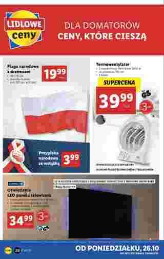 Lidl - gazetka promocyjna ważna od 26.10.2020 do 31.10.2020 - strona 20.