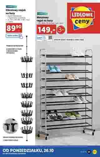 Lidl - gazetka promocyjna ważna od 26.10.2020 do 31.10.2020 - strona 25.