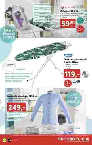 Lidl - gazetka promocyjna ważna od 26.10.2020 do 31.10.2020 - strona 44.