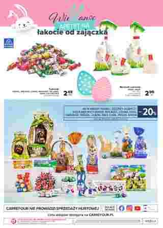 Carrefour - gazetka promocyjna ważna od 24.03.2020 do 11.04.2020 - strona 16.