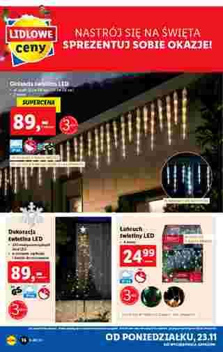 Lidl - gazetka promocyjna ważna od 23.11.2020 do 28.11.2020 - strona 16.