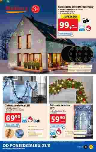 Lidl - gazetka promocyjna ważna od 23.11.2020 do 28.11.2020 - strona 21.