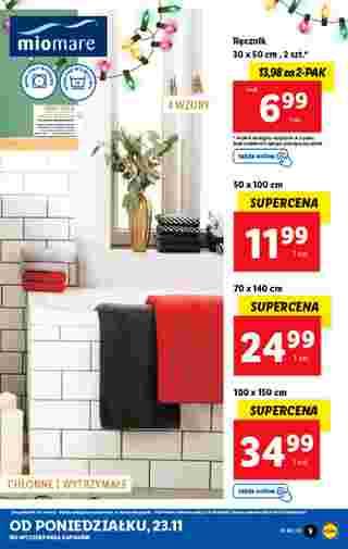 Lidl - gazetka promocyjna ważna od 23.11.2020 do 28.11.2020 - strona 9.