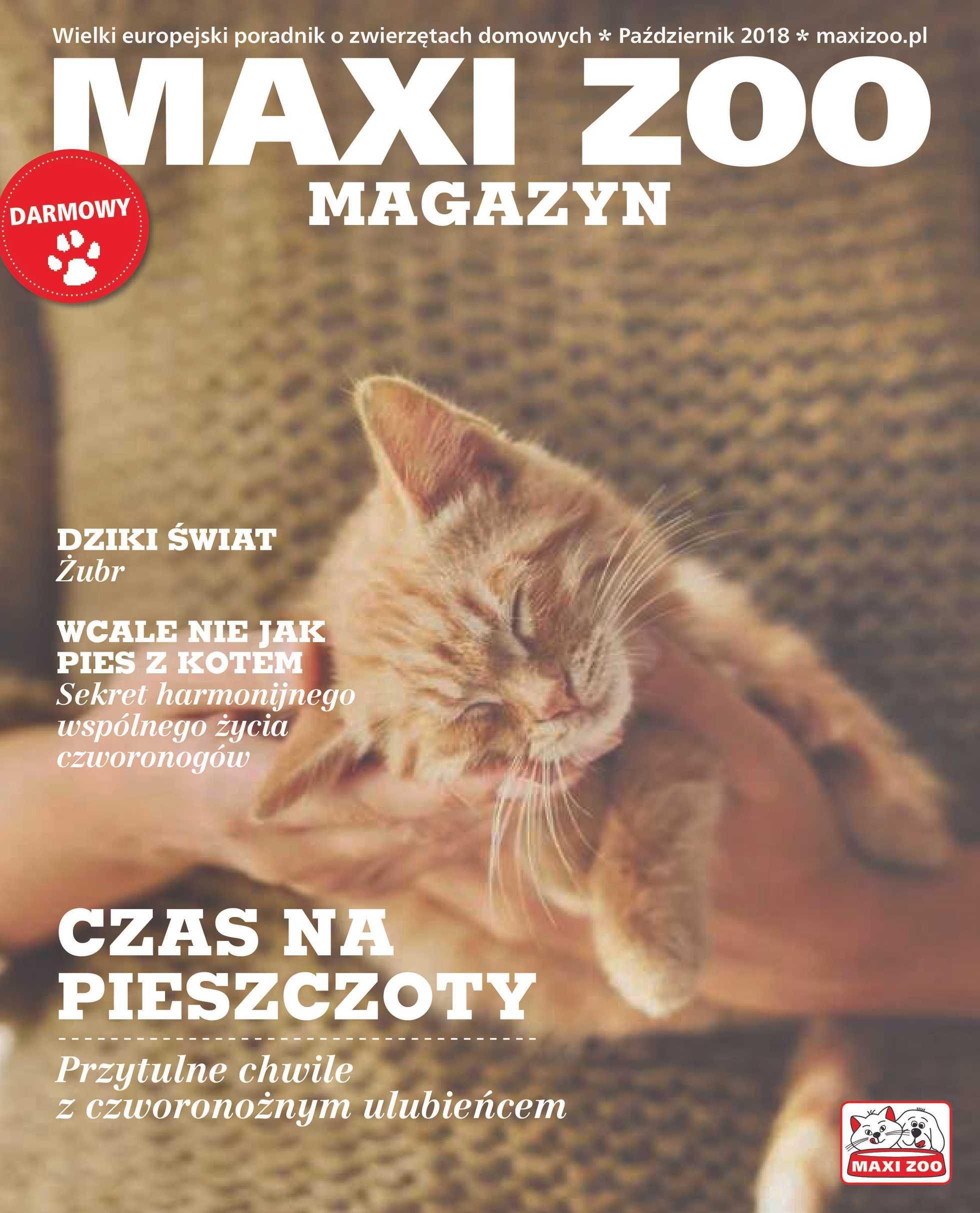 Maxi ZOO - gazetka promocyjna ważna od 01.10.2018 do 31.05.2019 - strona 1.