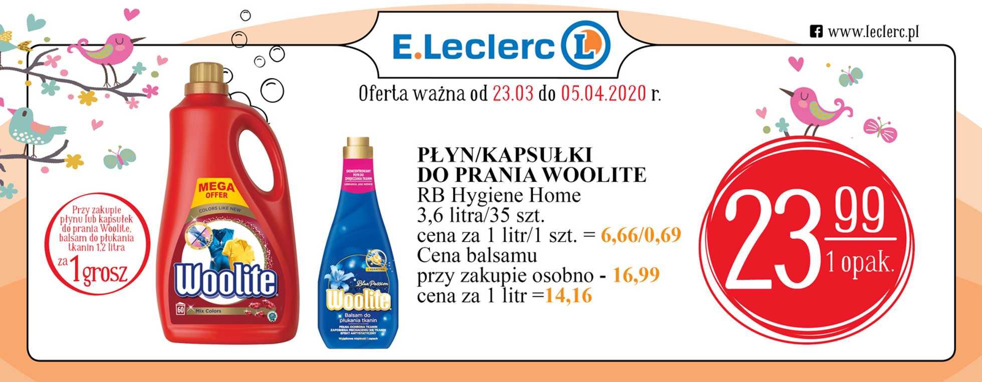 E.Leclerc - gazetka promocyjna ważna od 23.03.2020 do 05.04.2020 - strona 2.