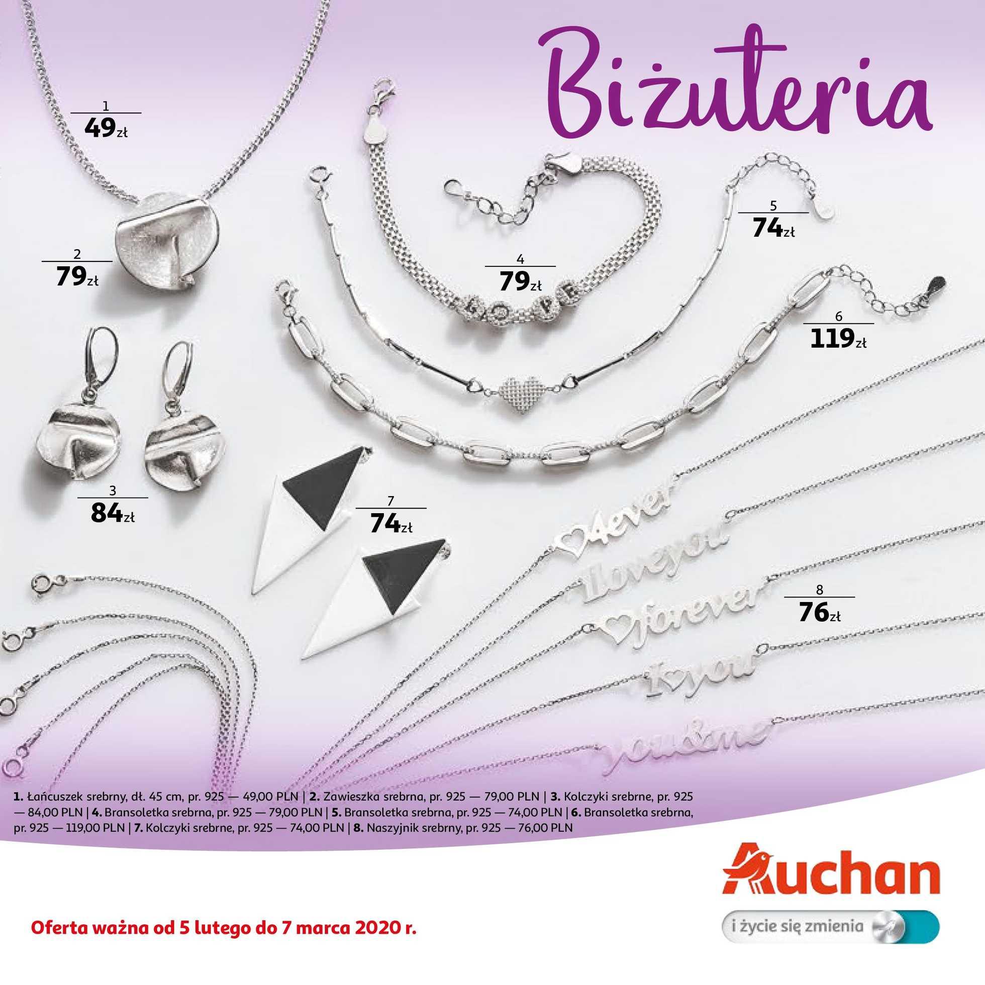 Auchan - gazetka promocyjna ważna od 05.02.2020 do 07.03.2020 - strona 1.