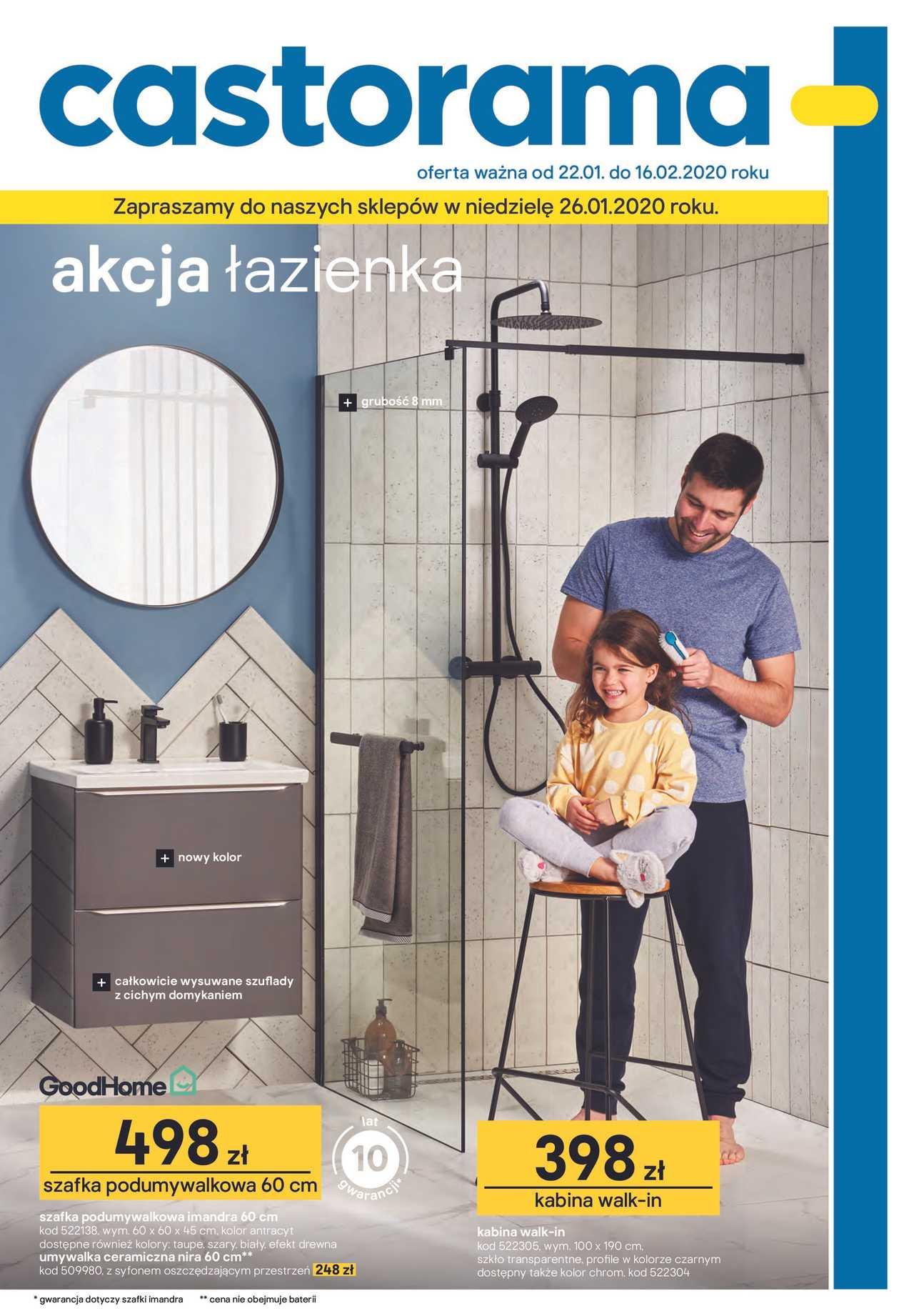 Gazetka Promocyjna Castorama Z 22 01 2020 Gazetkowo Pl