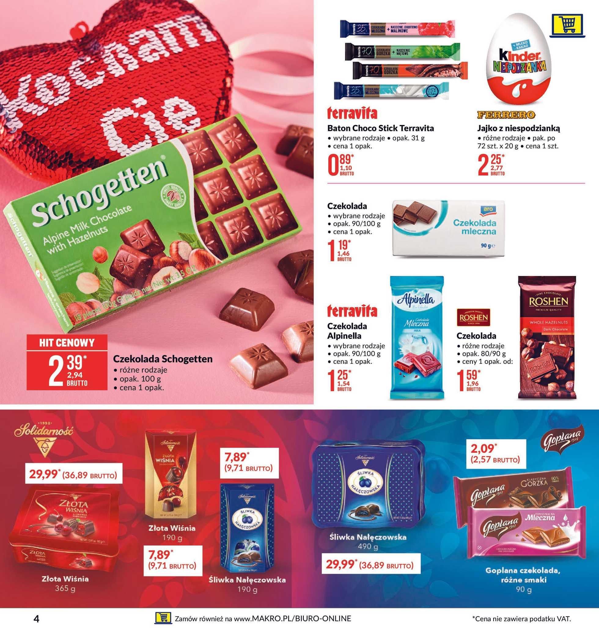 Makro - gazetka promocyjna ważna od 28.01.2020 do 10.02.2020 - strona 4.