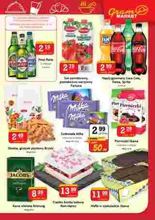 Gram Market - gazetka promocyjna ważna od 22.01.2020 do 28.01.2020 - strona 7. W promocji m.in. piwa, milka, milka, ciastko, ciastko, ciastko, ciastko, milka, piwa, piwa, ciastko, piwa, milka, milka, piwa