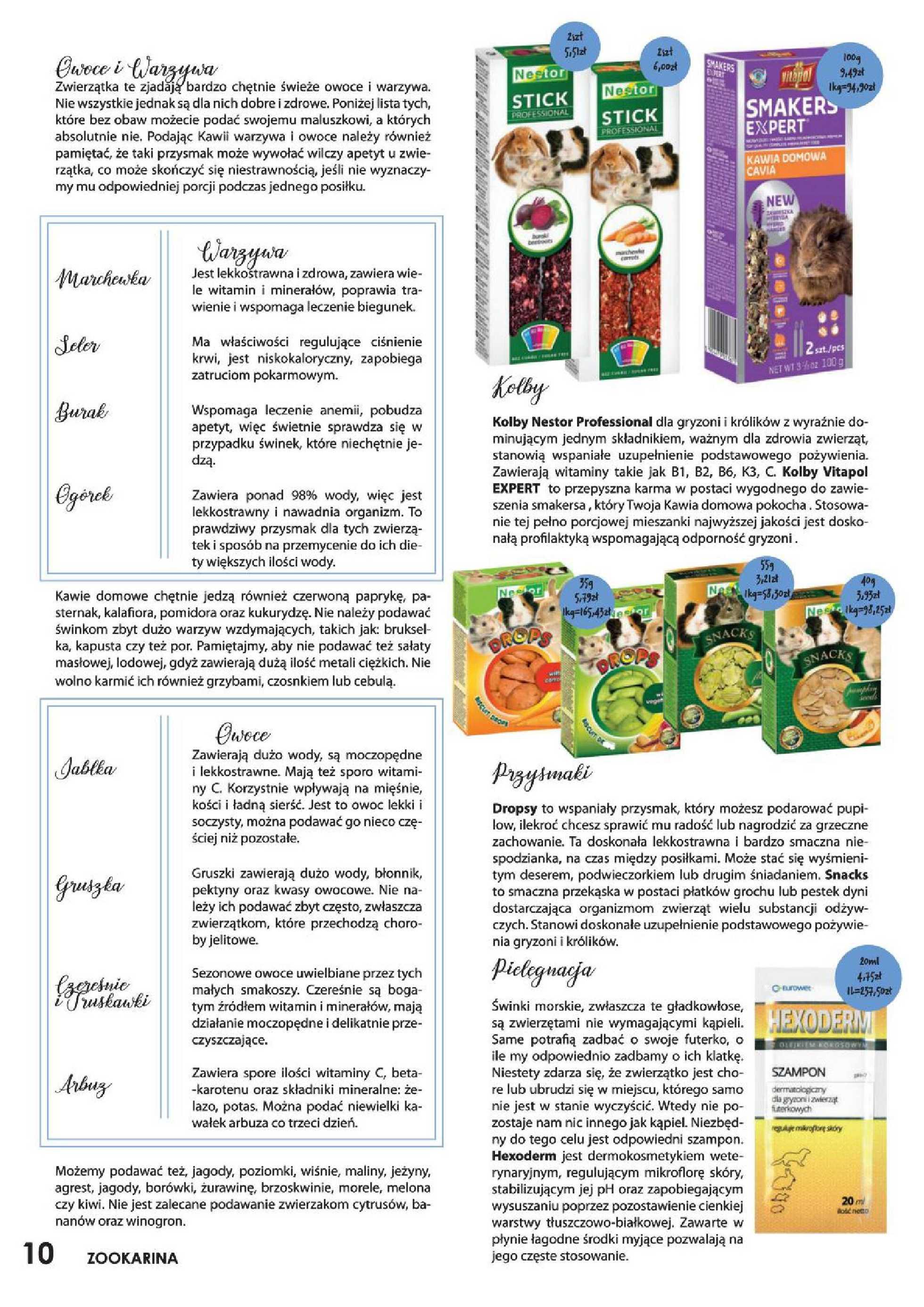 ZOO Karina - gazetka promocyjna ważna od 01.07.2020 do 31.07.2020 - strona 2.