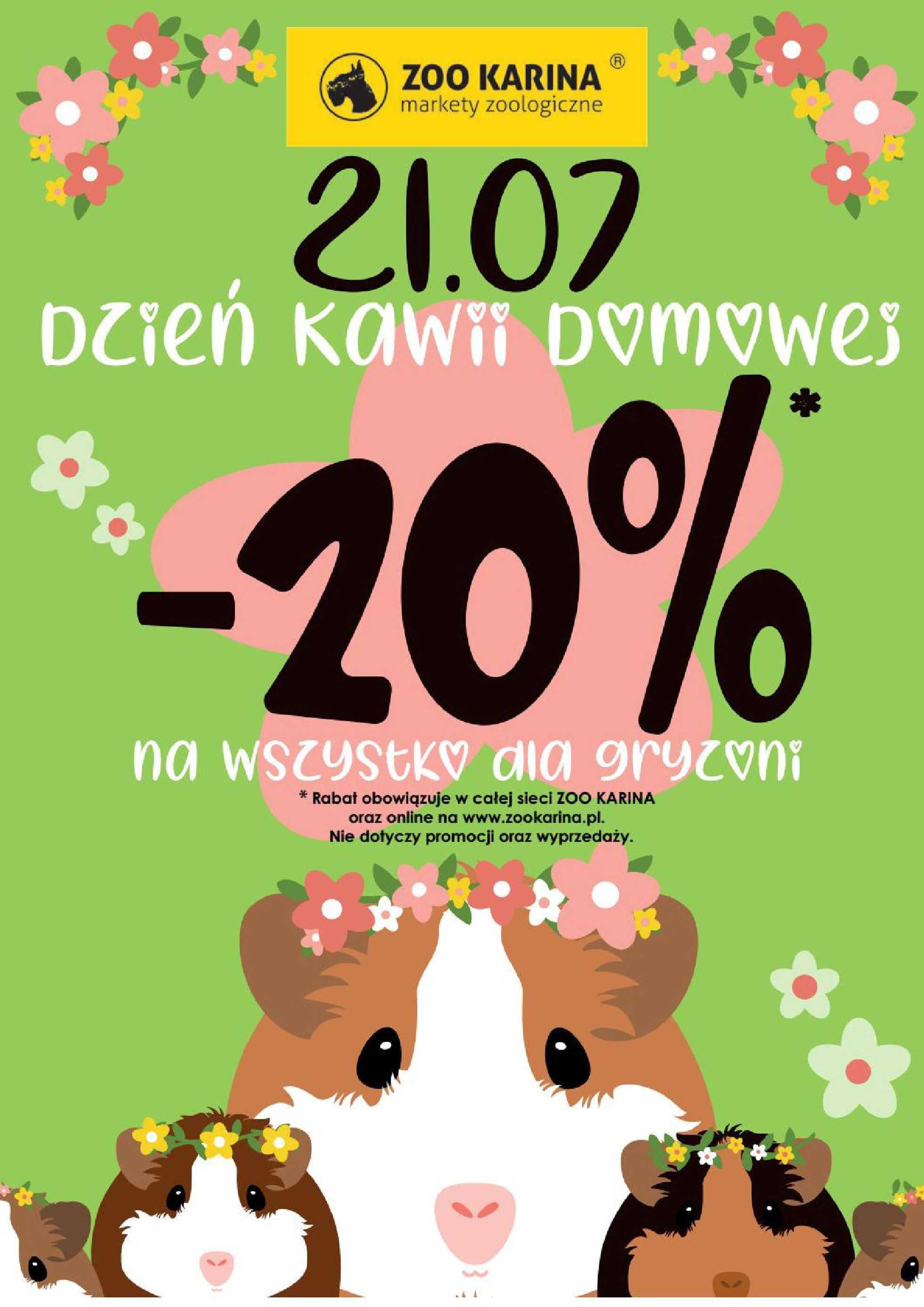 ZOO Karina - gazetka promocyjna ważna od 01.07.2020 do 31.07.2020 - strona 3.