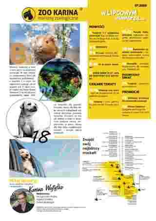 ZOO Karina - gazetka promocyjna ważna od 01.07.2020 do 31.07.2020 - strona 14.