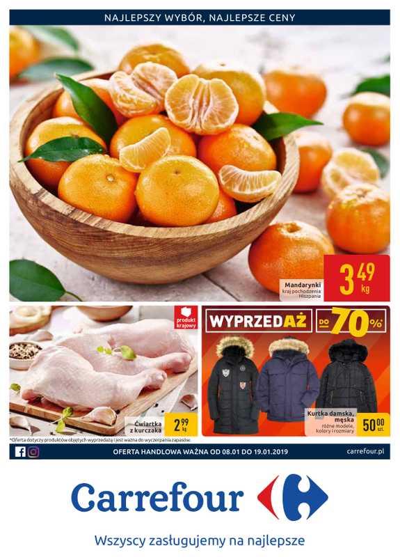 Carrefour - gazetka promocyjna ważna od 08.01.2019 do 19.01.2019 - strona 1.