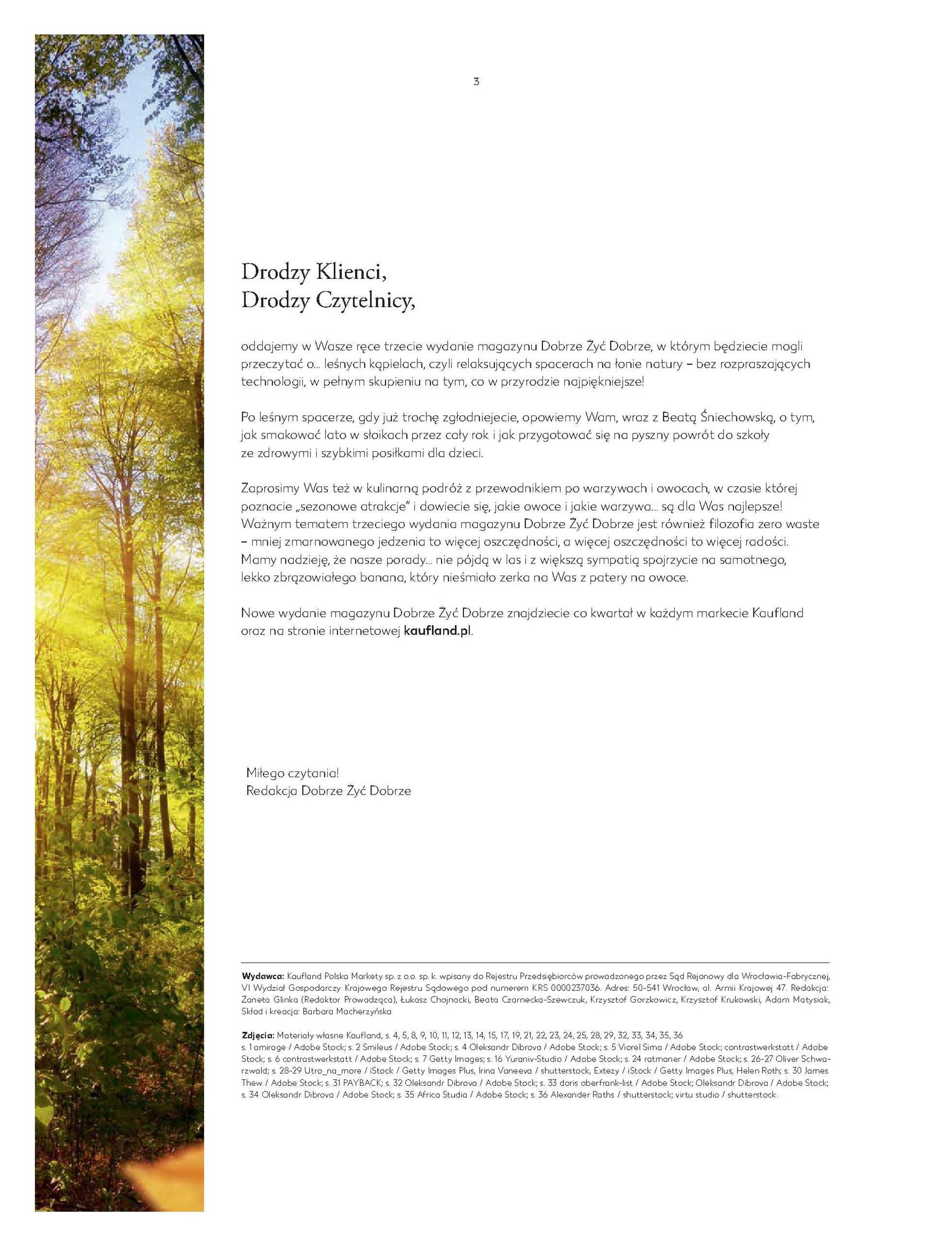 Kaufland - gazetka promocyjna ważna od 01.09.2020 do 31.10.2020 - strona 3.
