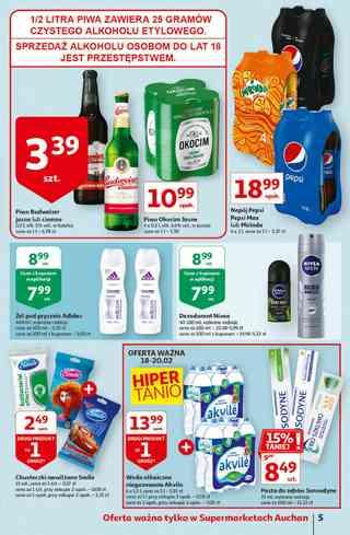 Gazetka sieci Auchan ważna od 18.02.2021 do 25.02.2021