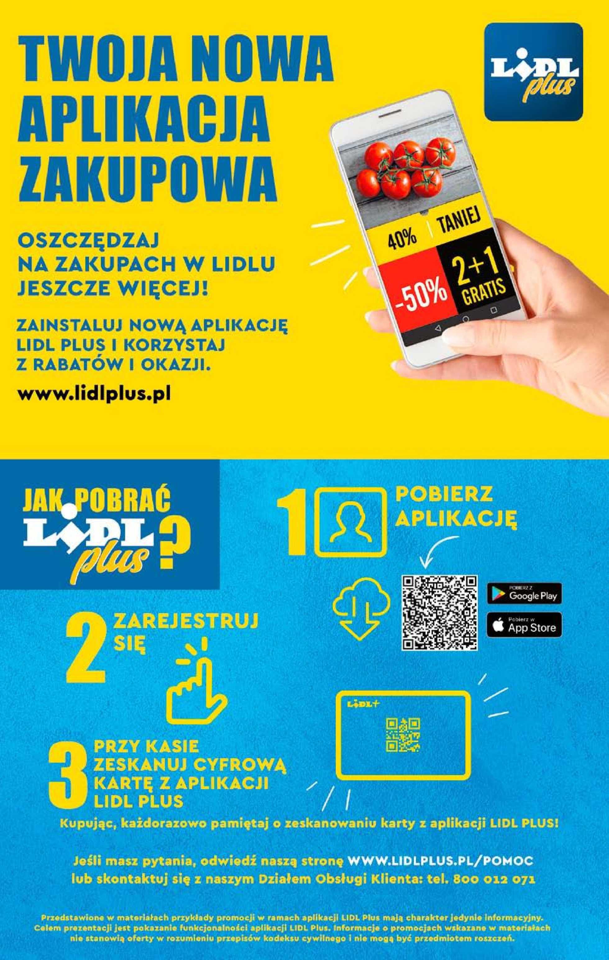 Lidl - gazetka promocyjna ważna od 29.04.2019 do 04.05.2019 - strona 2.