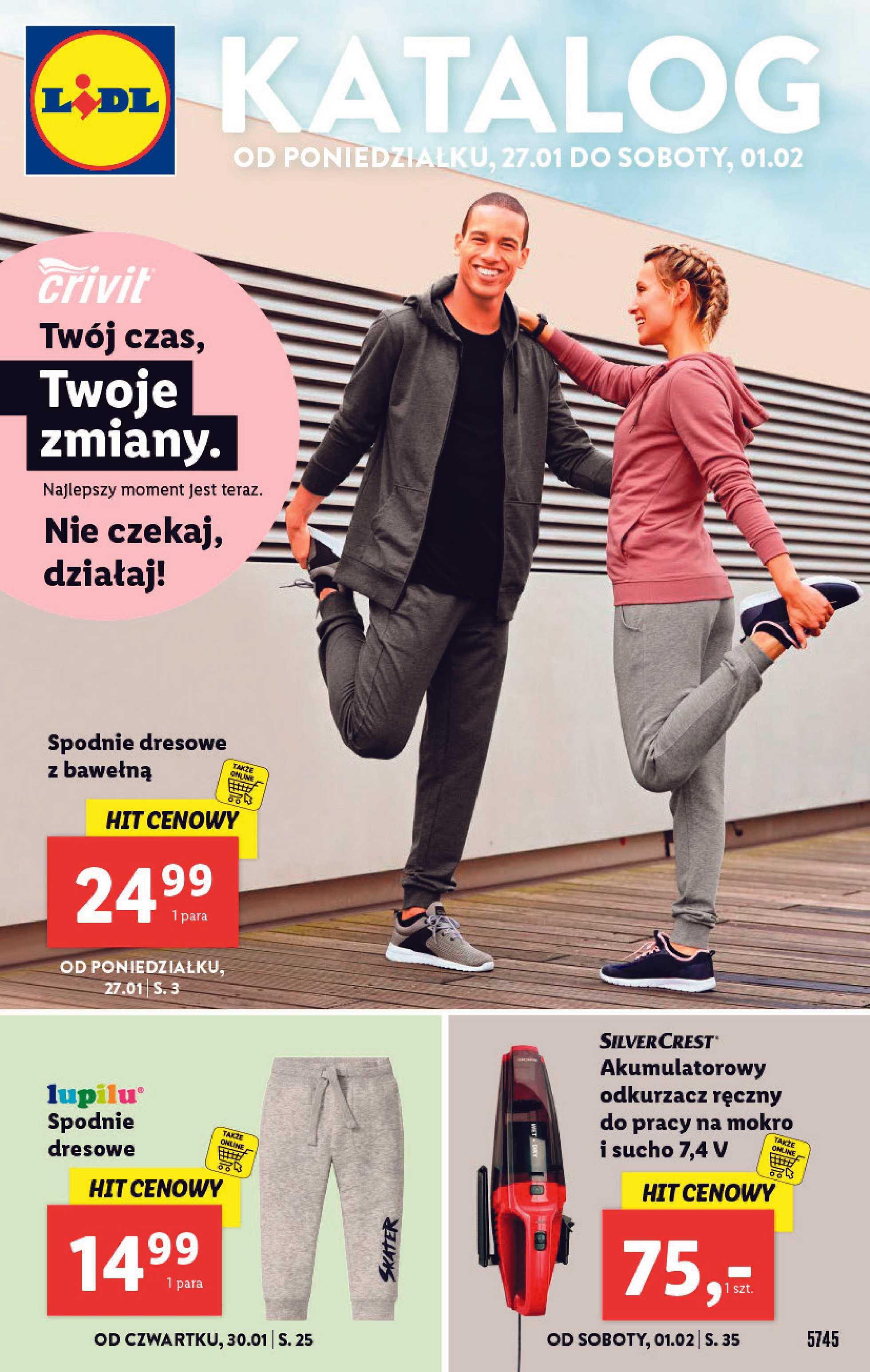 Lidl - gazetka promocyjna ważna od 27.01.2020 do 01.02.2020 - strona 1.