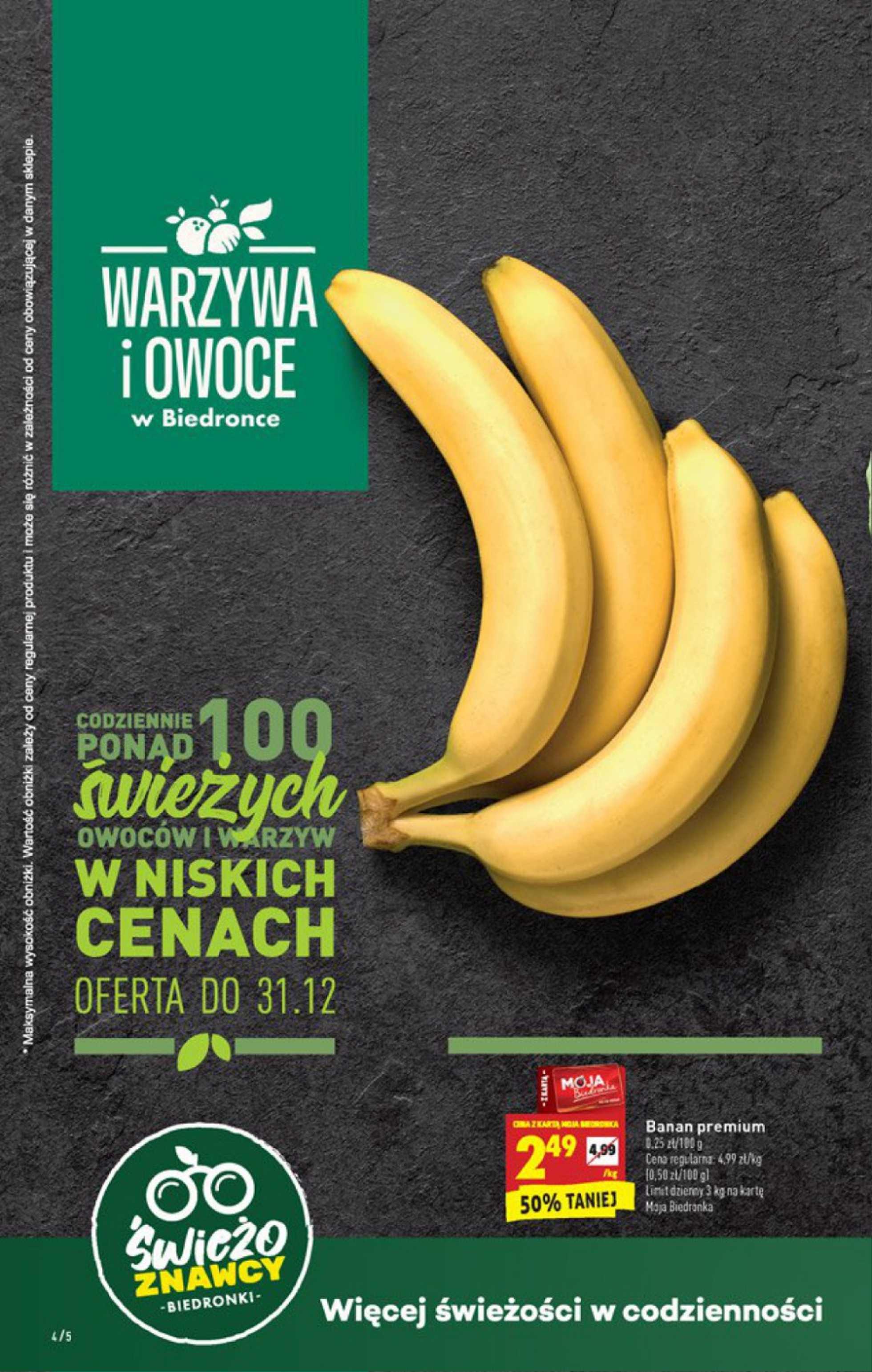 Biedronka - gazetka promocyjna ważna od 27.12.2019 do 31.12.2019 - strona 4.
