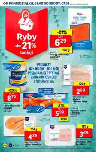 Lidl - gazetka promocyjna ważna od 05.08.2019 do 07.08.2019 - strona 14.