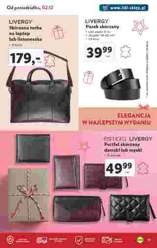 Lidl - gazetka promocyjna ważna od 14.10.2019 do 24.12.2019 - strona 29.