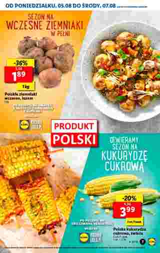 Lidl - gazetka promocyjna ważna od 05.08.2019 do 07.08.2019 - strona 7.
