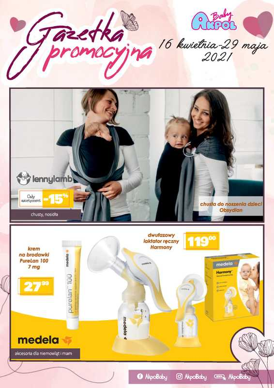 Akpol Baby - gazetka promocyjna ważna od 16.04.2021 do 29.05.2021 - strona 1.