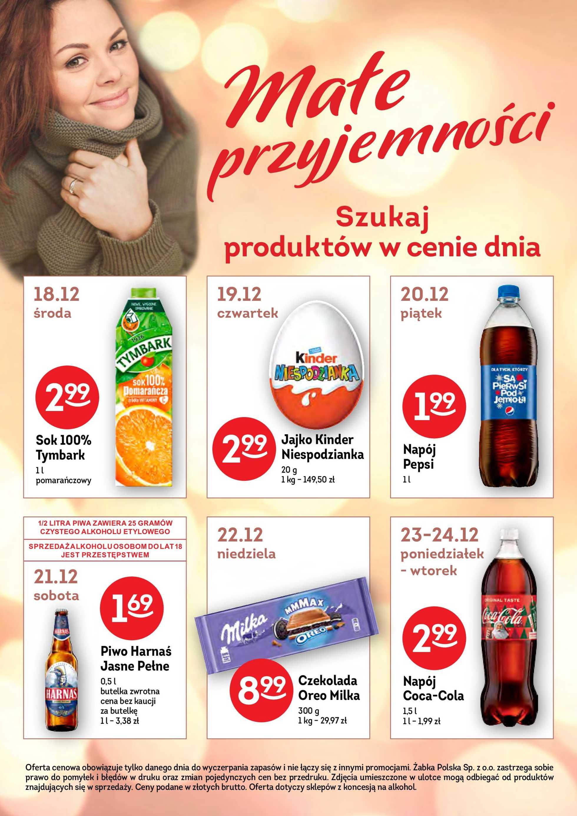 Żabka - gazetka promocyjna ważna od 18.12.2019 do 07.01.2020 - strona 2.