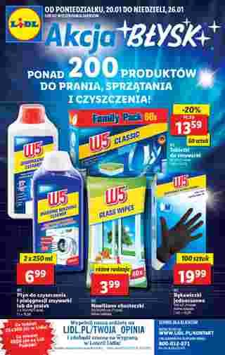 Lidl - gazetka promocyjna ważna od 20.01.2020 do 26.01.2020 - strona 40.