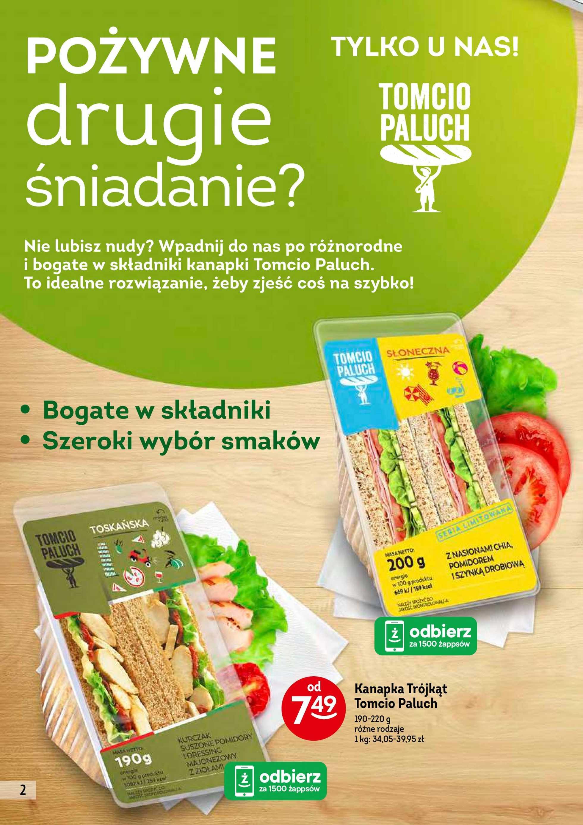 Żabka - gazetka promocyjna ważna od 28.08.2019 do 10.09.2019 - strona 2.