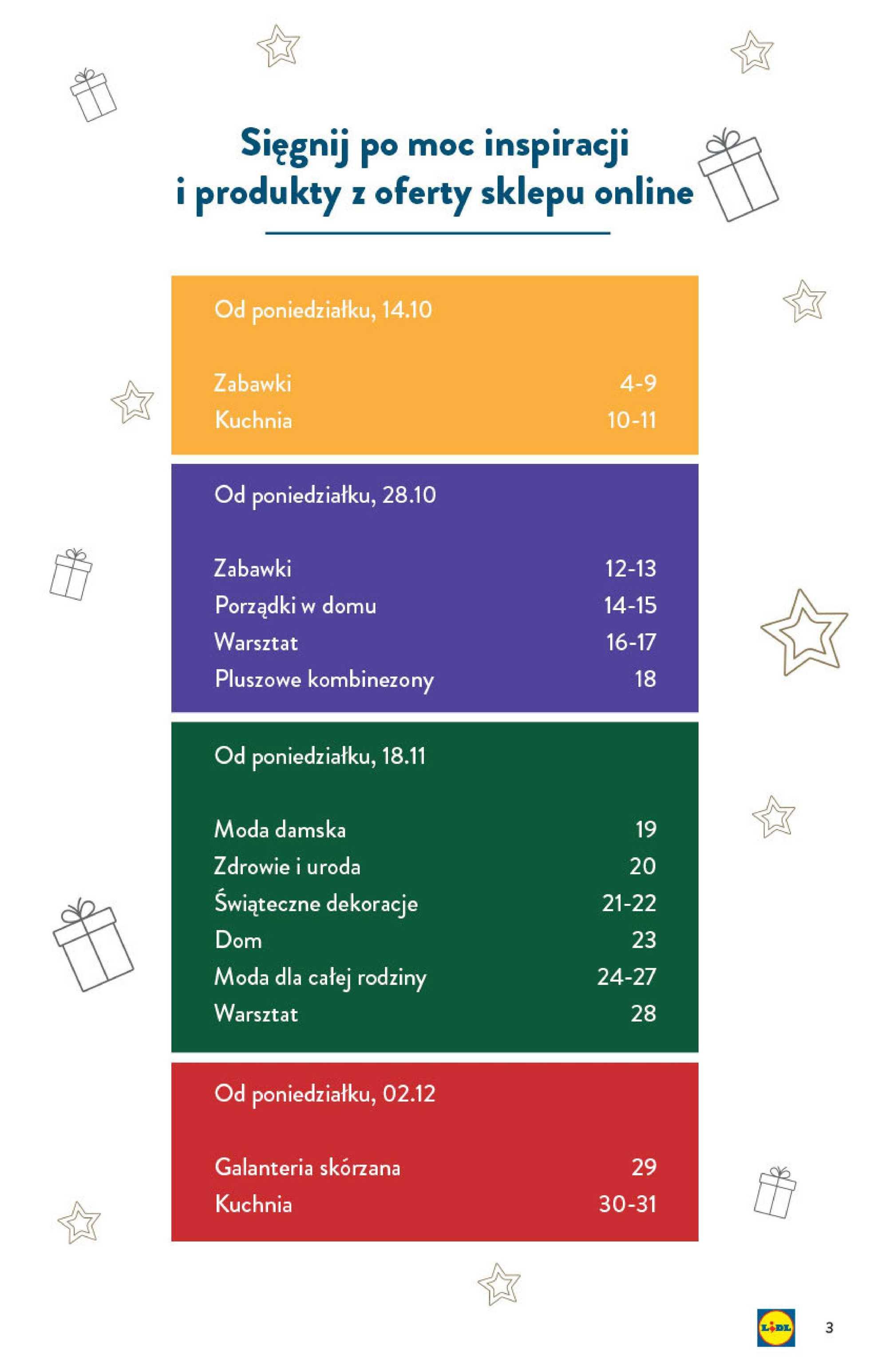 Lidl - gazetka promocyjna ważna od 14.10.2019 do 24.12.2019 - strona 3.