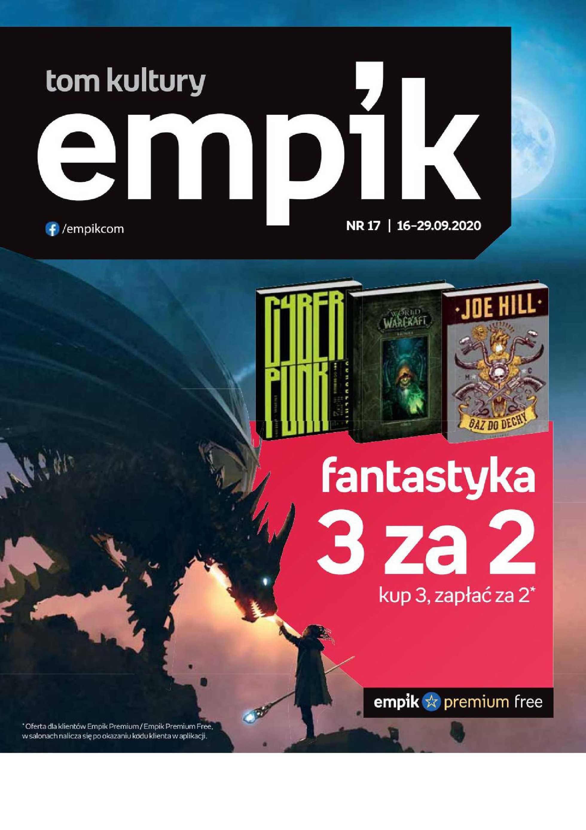 Empik - gazetka promocyjna ważna od 16.09.2020 do 29.09.2020 - strona 1.