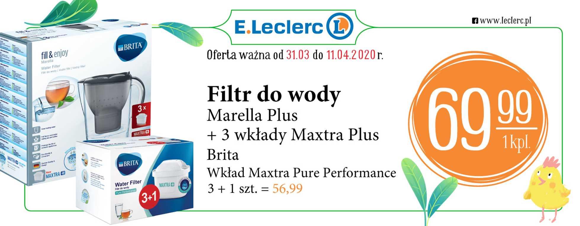 E.Leclerc - gazetka promocyjna ważna od 31.03.2020 do 11.04.2020 - strona 3.
