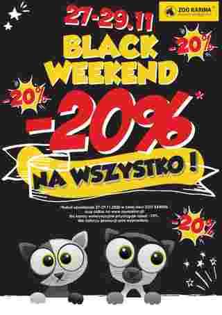 ZOO Karina - gazetka promocyjna ważna od 01.11.2020 do 30.11.2020 - strona 30.