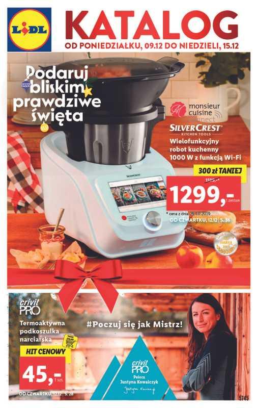 Lidl - gazetka promocyjna ważna od 09.12.2019 do 15.12.2019 - strona 1.