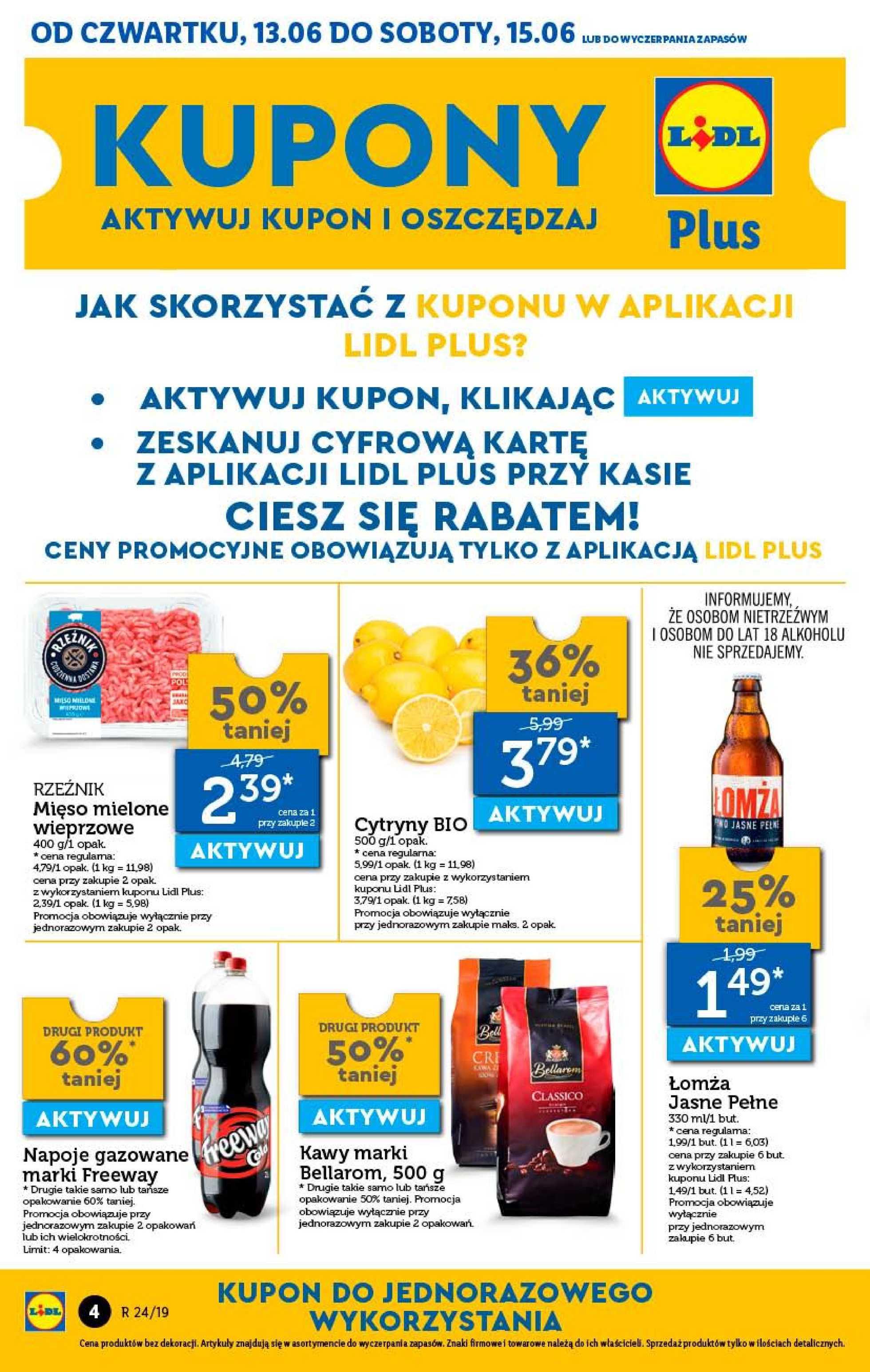 Lidl - gazetka promocyjna ważna od 13.06.2019 do 15.06.2019 - strona 4.