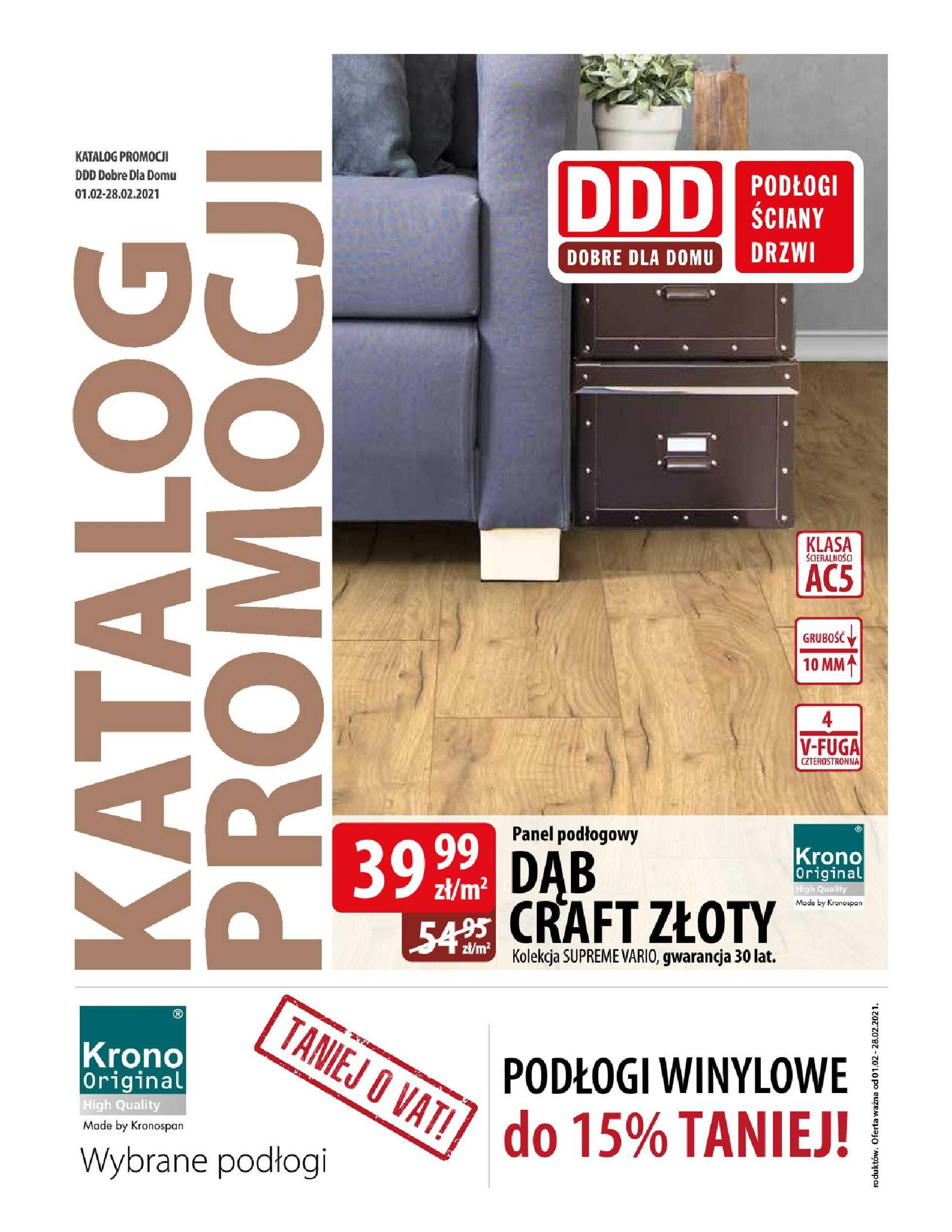 DDD - gazetka promocyjna ważna od 01.02.2021 do 28.02.2021 - strona 1.
