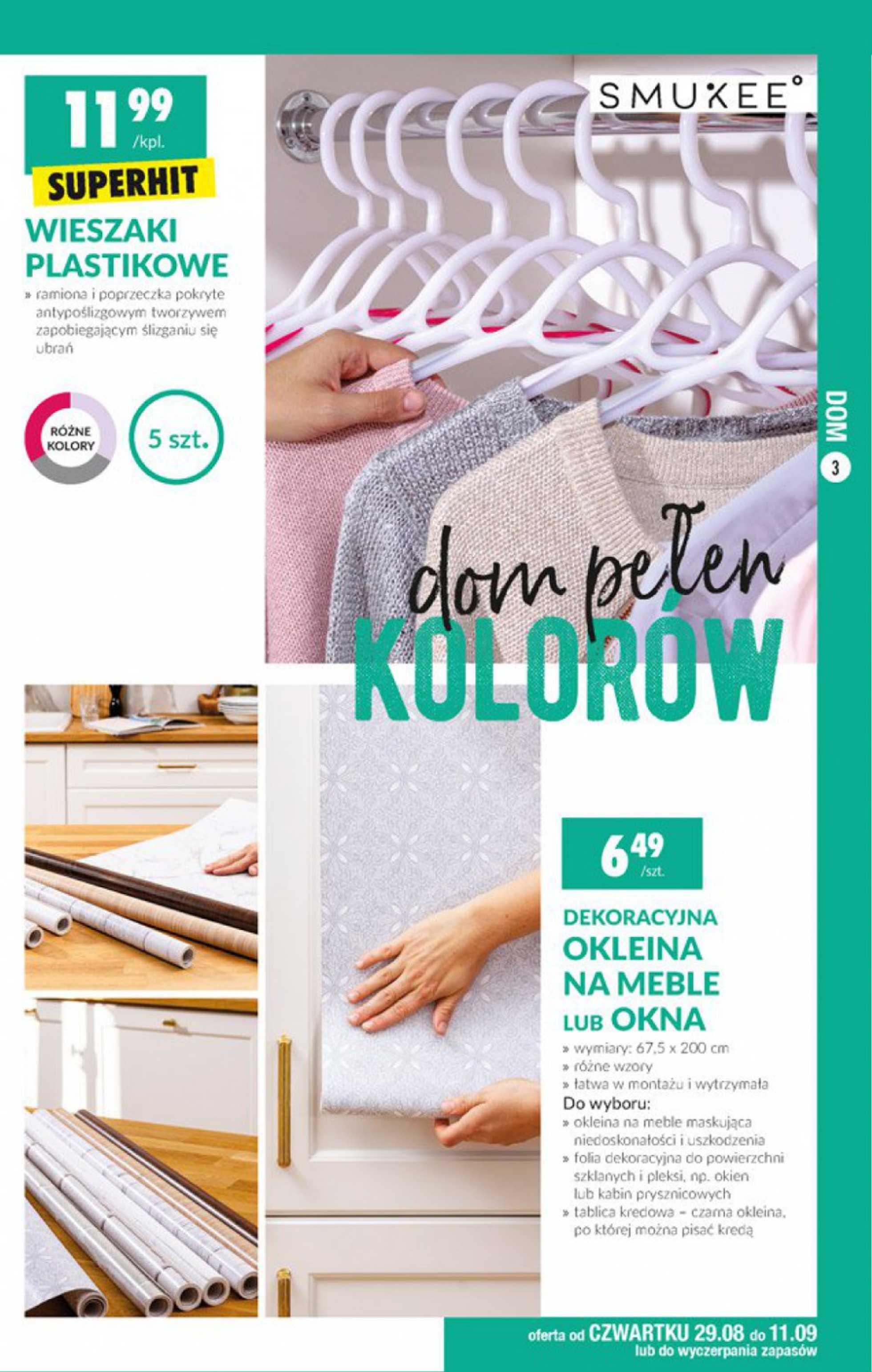 Biedronka - gazetka promocyjna ważna od 29.08.2019 do 11.09.2019 - strona 3.